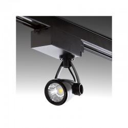 Foco Carril LED Trifásico 9W 810Lm 30.000H Norah