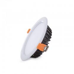 Foco Downlight  LED IP65 Baños Y Cocinas Ø190Mm 18W 1620Lm 30.000H