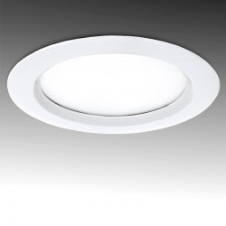 Foco Downlight  LED IP65 Baños Y Cocinas Ø190Mm 24W 2160Lm 30.000H
