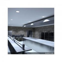 Foco Downlight  LED IP65 Baños Y Cocinas Ø190Mm 24W 2160Lm 30.000H
