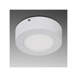 Plafón LED Circular Superficie Ø120Mm 12VDC 6W 470Lm 30.000H