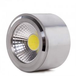 Aplique LED COB 9W 2430Lm Negro Arianna