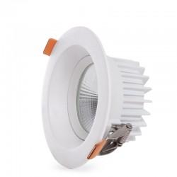 Foco Downlight  Circular LED Anti-Deslumbrante COB 7W 700Lm 30.000H