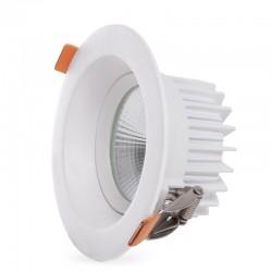 Foco Downlight  Circular LED Anti-Deslumbrante COB 9W 900Lm 30.000H