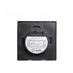 Pendel E27 Cable 1500mm Negro 3x0,75 Portalámparas Negro Rosetón Negro
