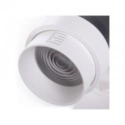 Foco Carril LED Trifásico Apertura Variable 10-60º 30W 2700Lm 50.000H Khloe