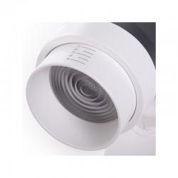 Foco Carril LED Trifásico Apertura Variable 10-60º 30W 2700Lm 50.000H Kayla