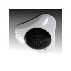 Cámara Wifi 1,3Mp 360º Ojo de Pez. Detección Proximidad. Audio Bidireccional. Plug & View