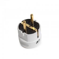 Interruptor Doble PANASONIC KARRE 10A 250V/Bastidor Metálico con Garras/Teclas Blancas
