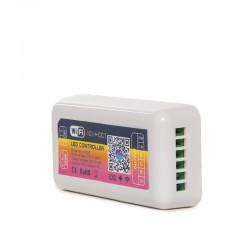 Controlador Wifi Tira LED RGB + Cct Compatible Alexa
