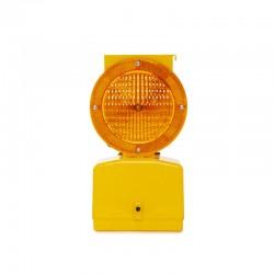 Baliza Solar LED Señalización - Amarillo