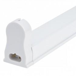 Luminaria Aluminio Eco 1 X Tubo LED T8 1200Mm Conexión Un Extremo