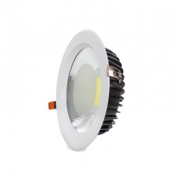 Foco Downlight  LED COB Circular 40W 3600Lm 30.000H