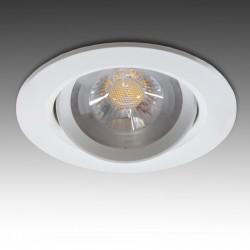 Foco Downlight  Circular LED COB 7W 630Lm 30.000H