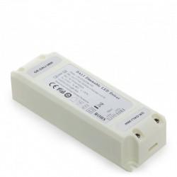 Conector Tira LED SMD5050 10Mm RGB 4 Vías Doble 12/24VDC