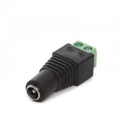 Conector Dc IP65 Hembra