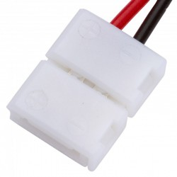 Conector Tira LED SMD3528/2835 2 Vías Simple 12/24VDC