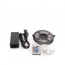 Kit Tira 150 LEDs 36W RGB Blister Transformador, Controlador, Mando a Distancia IP65