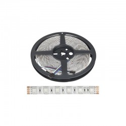 Tira LED 24VDC 300 xsmd 5050 5M RGB IP65 Exterior