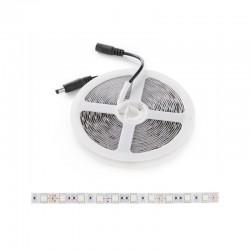 Tira LED 300 X SMD5050 12VDC 60W IP65 Azúl Hielo