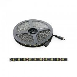 Tira LED 300 X SMD5050 12VDC IP65 Pcb Negro