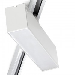 Foco Carril LED Lineal Monofásico 12W Blanco CCT Ajustable