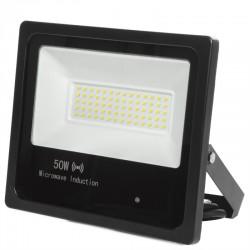 Foco Proyector LED IP65 Detector Movimiento Integrado 50W 30.000H