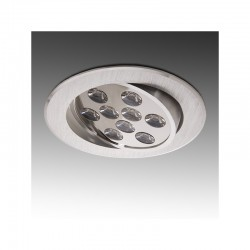 Foco Downlight  LED Ecoline Circular 9W 900Lm 30.000H