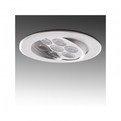 Foco Downlight  LED Ecoline Circular 7W 700Lm 30.000H