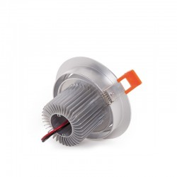 Foco Downlight  LED Ecoline Circular 7W 700Lm 30.000H
