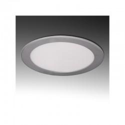 Placa de LEDs Circular Ecoline 225M 18W 1350Lm 30.000H Plata
