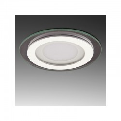 Foco Downlight  LED Circular con Cristal Ø95Mm 6W 450Lm 30.000H GR-MB01-6W-CW