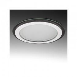 Foco Downlight  LED Circular con Cristal Ø200Mm 15W 1150Lm 30.000H