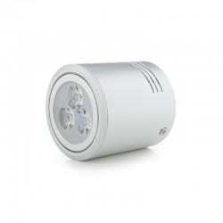 Foco Downlight  LED de Superficie Aluminio 3W 300Lm 30.000H