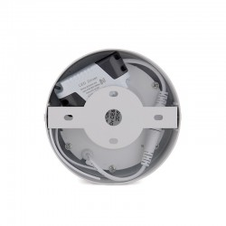 Plafón LED Circular Superficie Ø120Mm 6W 470Lm 30.000H
