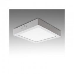 Plafón LED Cuadrado Superficie 174Mm 12W 800Lm 30.000H