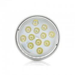 Foco Downlight  LED de Superficie Aluminio 12W 1200Lm 30.000H