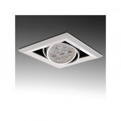 Foco Downlight  LED Cuadrado 7W 700Lm 30.000H