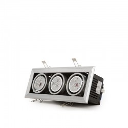 Foco Downlight  LED Rectangular 9W 900Lm 30.000H