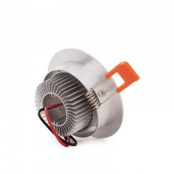 Foco Downlight  LED Ecoline Circular 3W 300Lm 30.000H