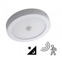 Plafón LED Superficie 20W Detector 1800Lm 40.000H
