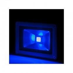 Foco Proyector LED IP65 Brico 10W 850Lm 30.000H Azul