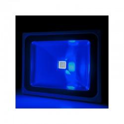 Foco Proyector LED IP65 Brico 50W 4250Lm 30.000H Azul