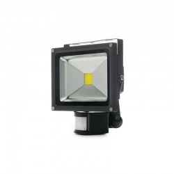 Foco Proyector LED IP65 Detector Movimiento 20W 1800Lm 30.000H
