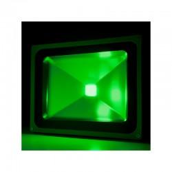 Foco Proyector de LEDs para Exterior BRICO 50W 4250Lm 30.000H Verde