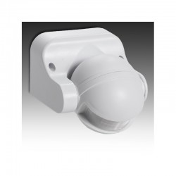 Sensor Movimiento Superficie 180º IP44 ►1200/300W