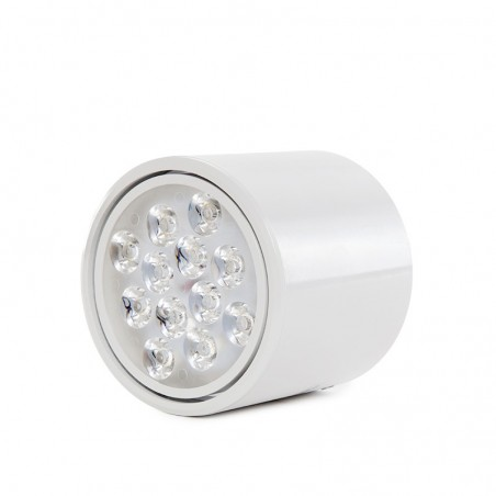 Foco Downlight  LED de Superficie Blanco 12W 1200Lm 30.000H