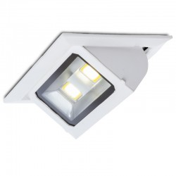 Foco Downlight  LED Rectangular Basculante COB 40W 3600Lm 30.000H