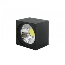 Foco Downlight  LED de Superficie COB Cuadrado Negro 57X57Mm 3W 270Lm 30.000H BF-MZ3002-3W-B-CW
