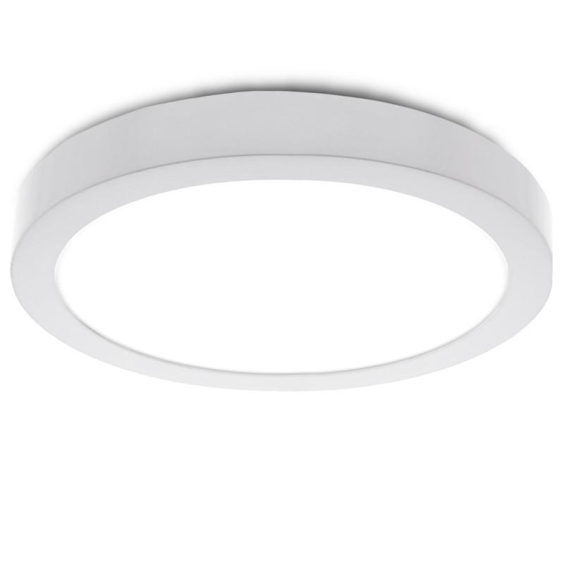 Plafón LED Circular Superficie Ø295Mm 24W 1900Lm 30.000H